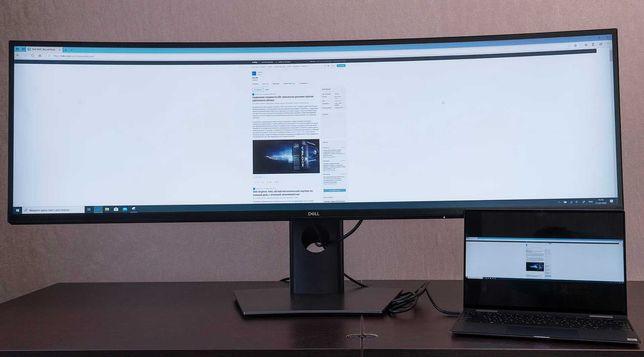 Dell U4919DW: ультраширокий 49-дюймовый монитор с изогнутым экраном