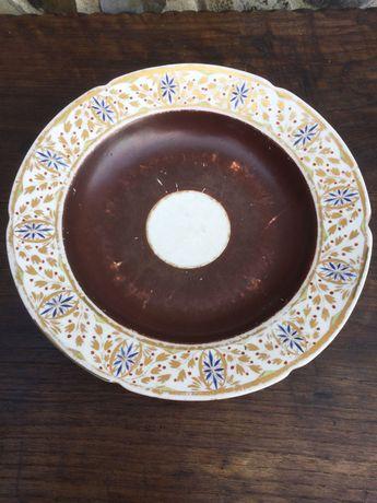 Prato porcelana Chinesa Companhia das Índias séc XIX 23 cm