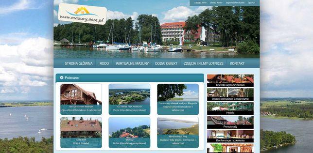 Mazury.com.pl - Dochodowy portal turystyczny pewny biznes zwrot < 3lat