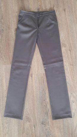 spodnie - brązowe, szyte na miarę, r. 36