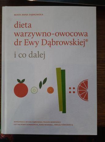 """Książka """"Dieta warzywno-owocowa dr Ewy Dąbrowskiej"""" B. A. Dąbrowska"""