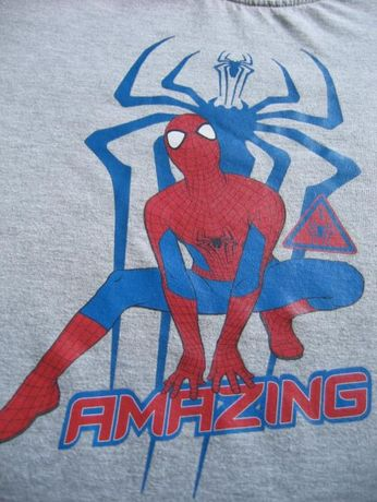koszulki T-Shirt Spiderman Marvel Orginal rozmiar 134/140
