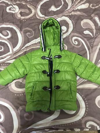 Куртка холодная осень зима 2 года