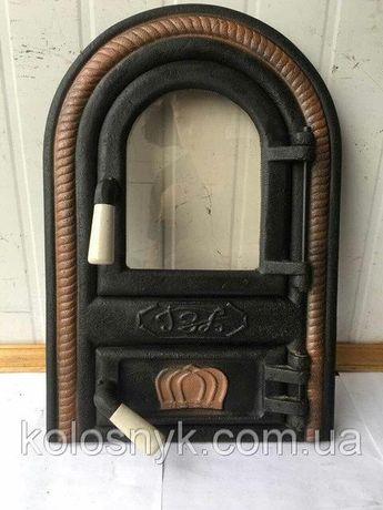 Дверцы для печи и барбекю, печная дверца со стеклом Дверцята пічні