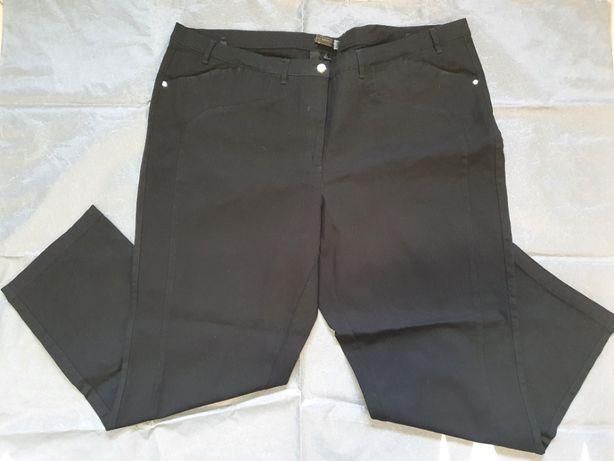 Jeansy damskie czarne w roz. XXL (roz.54) - bpc bonprix collection