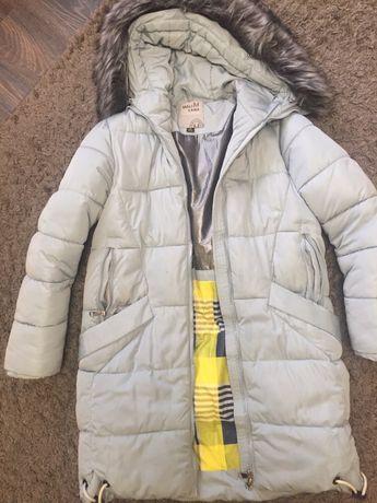 Пуховик зимний (термо) для девочки.