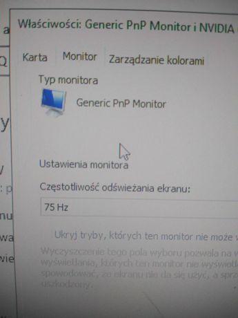Monitor BenQ g900w 75hz 24 cale