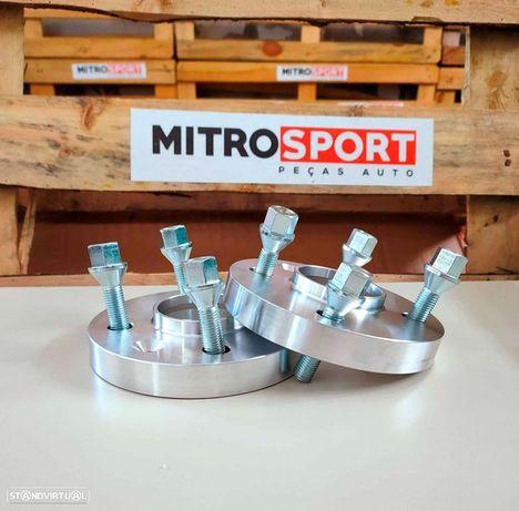 Alargadores / Espaçadores de Vias de 1,6cm para BMW 5x120 (Série5 E39)   Mitrosport