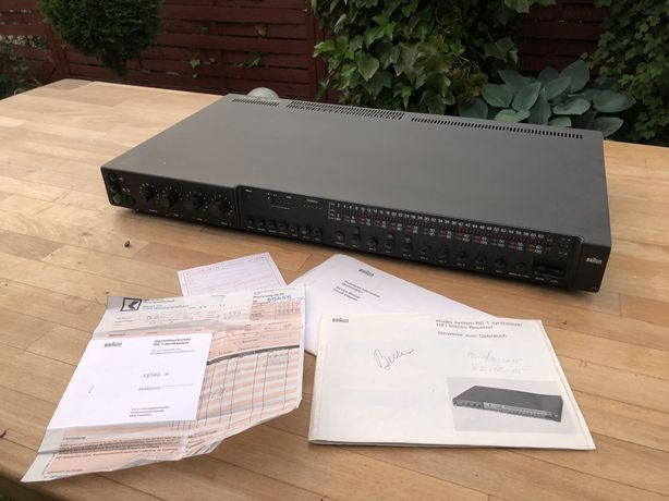 Braun Studio RS1 - Amplituner vintage Hi-End, fabrycznie nowy, 17kg