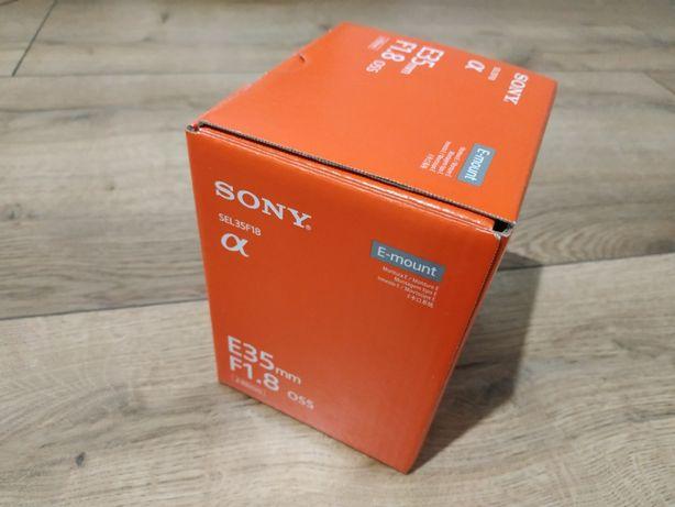 Obiektyw Sony SEL-35F18