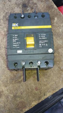 Продам автомат iEK ВА88-33 160а