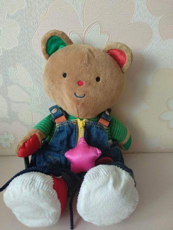 Развивающая мягкая игрушка Мишка M's Kids
