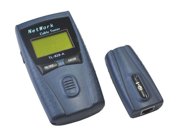 Tester kabli sieciowych LAN LCD TL-828