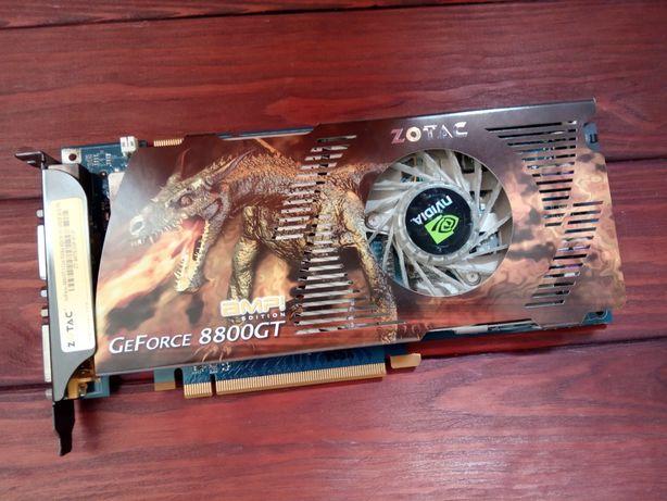 Видеокарта GeForce 8800 gt 512 mb не рабочая