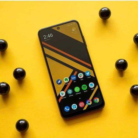 Смартфон POCO M3 Pro 4/64Gb black blue Телефон Поко М3про черный синий