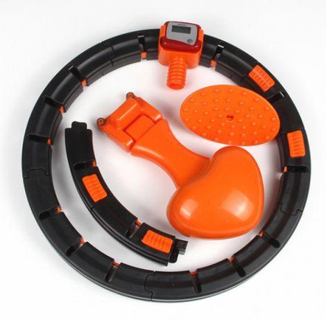 Хулахуп для похудения живота и боков Умный массажный обруч Hula Hoop