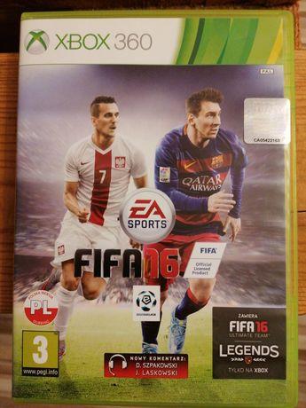 Gra FIFA 16 xbox 360