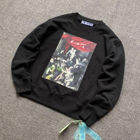 Off White свитер свитшот