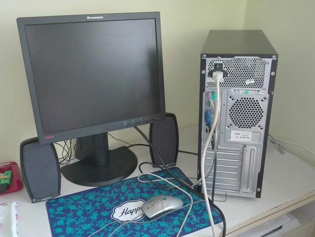 Gotowy do pracy  zestaw komputerowy