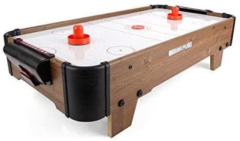 CYMBERGAJ - Power Play Table Top Air Hockey Game, 28 cali