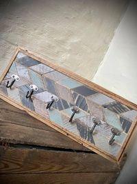 Wieszak z drewna Drewniany wieszak Wooden hanger 48x19,5 cm