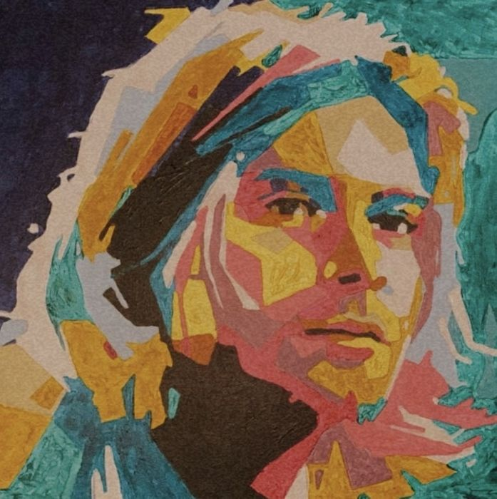 Картина Курт Кобейн Киев - изображение 1