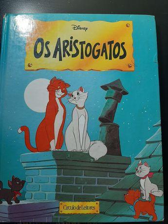 """livro """" Os Aristogatos"""""""