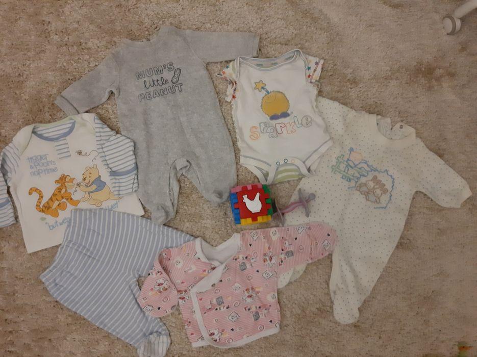 Пакет вещей на новорождённого ребенка от 0 до 3 мес слип боди ползунк Полтава - изображение 1
