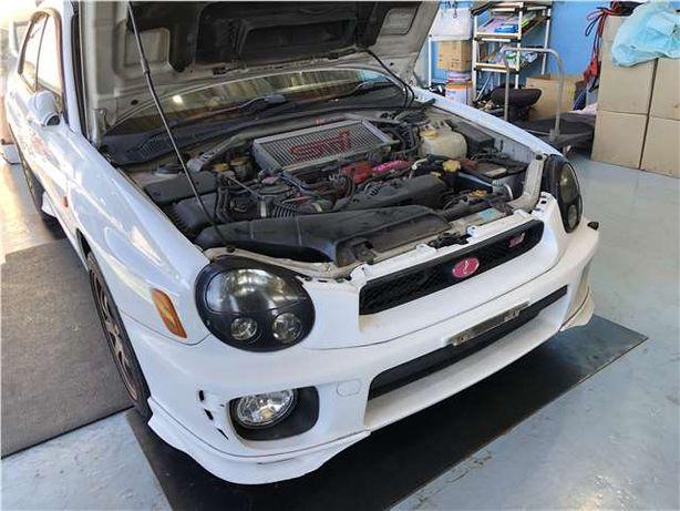 Обвес на Subaru Impreza поколение с 2000 - 2002 год.