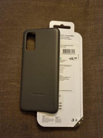 Capa Samsung S20 Leather nova original