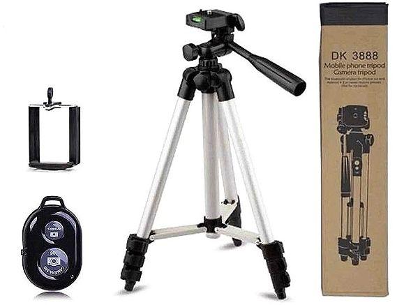 Штатив трипод с пультом ДУ для камеры и телефона Bluetooth DK-3888
