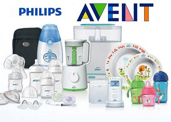 Продукция компании Avent Philips Авент филипс.