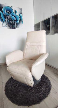 Fotel skórzany komfortowy