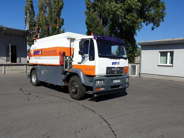 Autocysterna MAN / Willig do dystrybucji paliw płynnych
