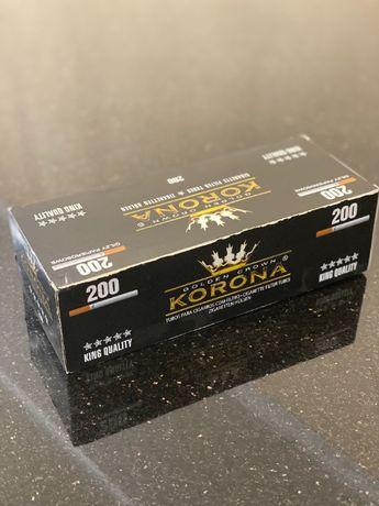 KORONA 200 Гильзы для сигарет, гильзы для табака, сигаретные гильзы