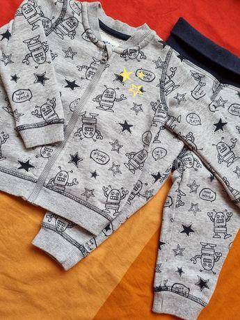 Bluza spodnie, dres Lupilu, rozmiar 74/80