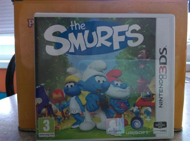 Gra Nintendo The Smurfs 3DS