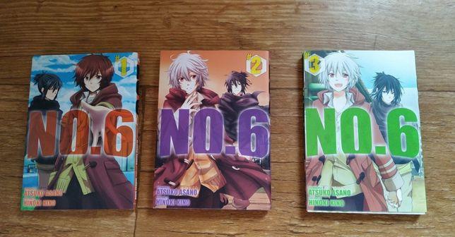 No.6 manga 1 2 i 3