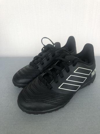 Футбольные бутсы сороконожки Kids Adidas PREDATOR TANGO 18.4 TF J
