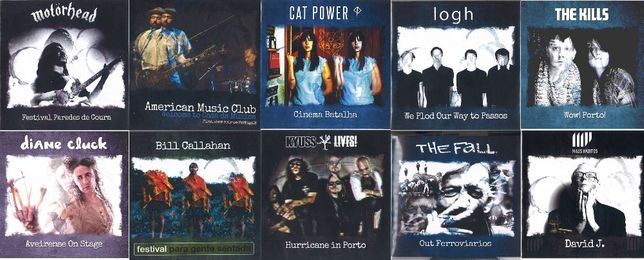 (Raridades) - Bauhaus,Cat Power,The Fall,Kyuss,Sonic Youth,Estas Tonne