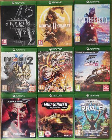 Gry Xbox one Tekken Mortal Forza Dragon Ball Battlefield Mud runner