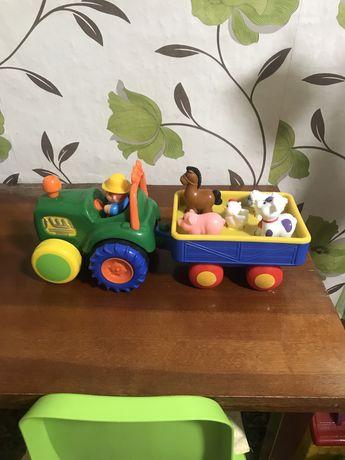 Игрушка Трактор фермера от Kiddiland