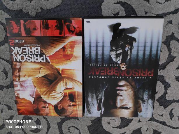 Coleção de DVDs Prison Break