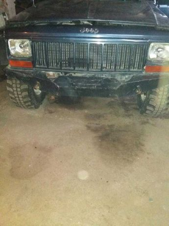 zderzak osłona silnika jeep XJ