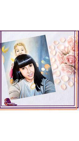 Подарок портрет картина