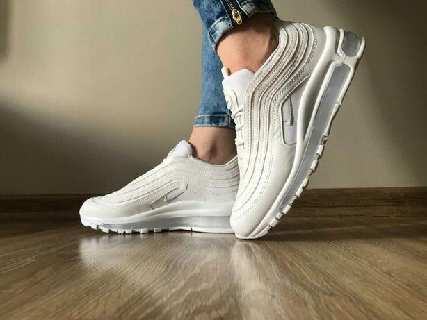 Nike Air Max 97 rozmiary 36,37,38,39,40,41. Kolor śnieżno - biały. Hit