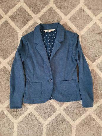 Żakiet marynarka H&M dla dziewczynki rozm. 140