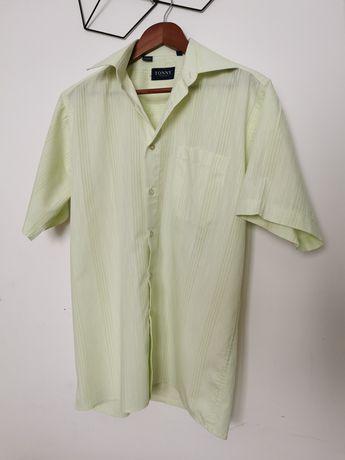 Koszula męska krótki rękaw 39