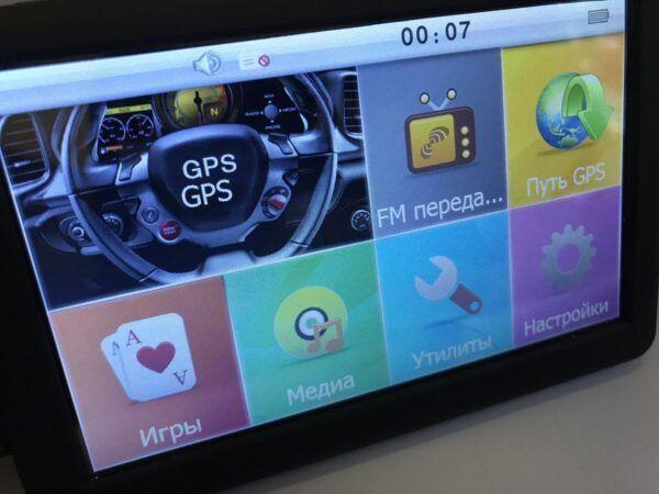 GPS навигатор 5 дюймов DDR2 128Mb 8Gb GPS-5002 Гореничи - изображение 1