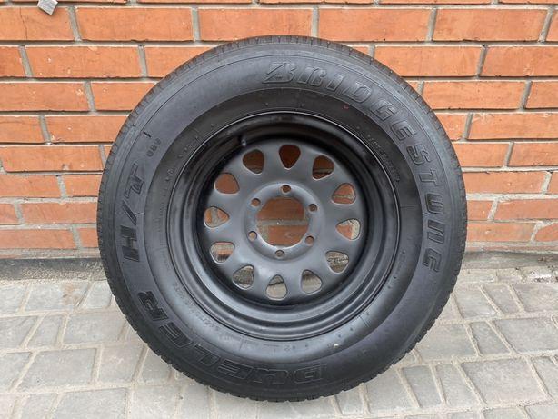 Диск+резина, запаска Mitsubishi Pajero Sport 6*139.7, R16